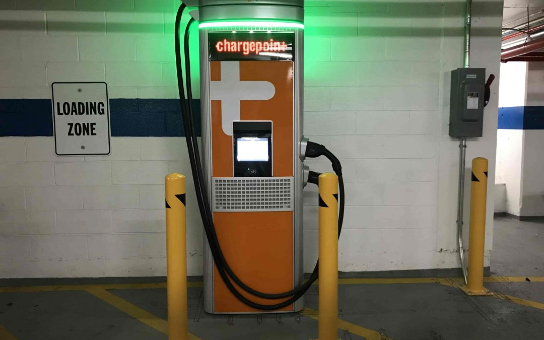DC EV charging station for the Organization of American States